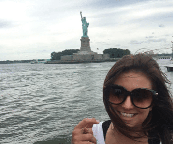Meet our amazing new events intern from across the pond – Jenna O'Grady!