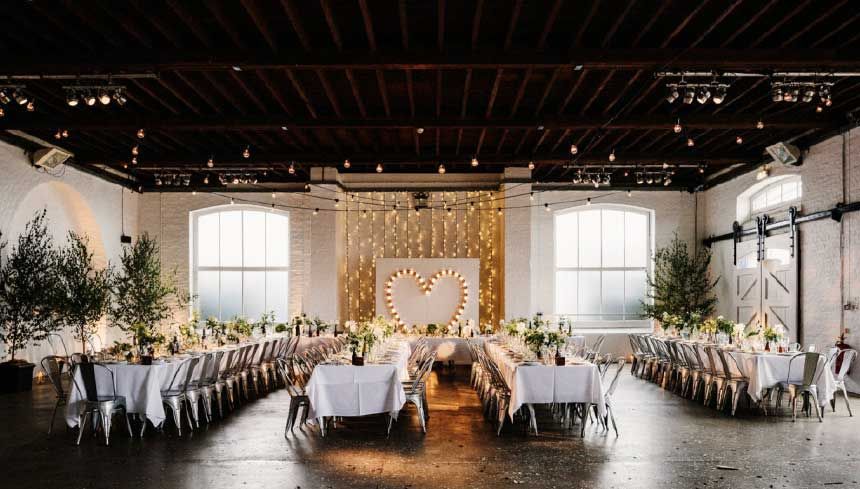Blank canvas venues
