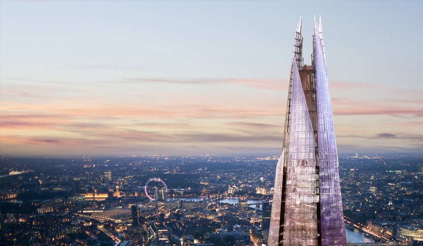 Hire The View From The Shard
